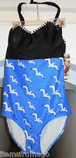 Size 2X Ladies FABLES by BARRIE Swimsuit - SEAGULLS - 1 Piece Bathing Suit