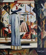 Hand Painted Oil Painting Repro August Macke Large Bright Shop 20x24in