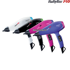 Professional hair dryer Babyliss Luminoso+ 2100W *Made in Italy* 220-240V