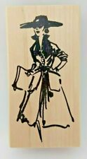 Fabulous Fashion DIVA Woman by Art Impressions P-2972 Rubber Stamp NEW