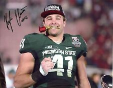 Kyler Elsworth Michigan State Spartans hand autograph signed 8x10 ROSE BOWL MVP