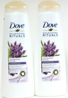 2 Ct Dove 12 Oz Nourishing Rituals Thickening Lavender Oil & Rosemary Shampoo