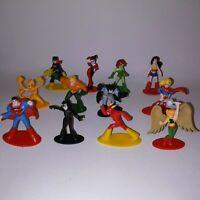 Set of 12 Mini Figures DC Comics Batman Flash Supergirl Superman & More Kids Toy