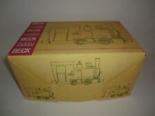 BECK REAL STEAM LOCOMOTIVE LIVE STEAM Anna G Scale Little Driven BOXED