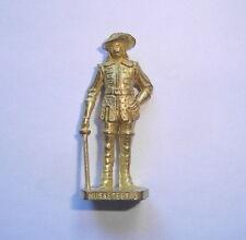 Kinder ancien en métal Mettalfiguren Französische Musketiere  n°2 Gold Scame