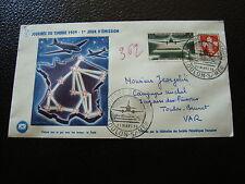 FRANCE - enveloppe 1er jour 21/3/1959 journee du timbre (cy12) french (R)