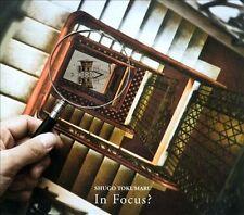 SHUGO TOKUMARU - IN FOCUS? [DIGIPAK] NEW CD