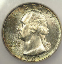 1947-S Washington Quarter 25C ICG MS67 - GEM BU!