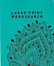 WORDSEARCH PUZZLE BOOK (PAPERBACK) 124 PUZZLES & SOLUTIONS GIFT BOOK