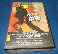 WHO DARES WINS VHS PAL OPAL SERIES JUDY DAVIS LEWIS COLLINS 1982