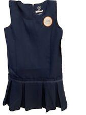 Girls Navy Blue Sz 6X Uniform Jumper Nwt!