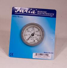 "Faria 13612 2"" Nantucket Water Pressure Gauge"