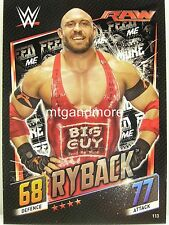 Slam Attax Then Now Forever - #113 Ryback