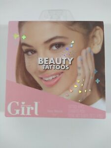 Tattoos! Who's That Girl Beauty Tattoos! New In Box!