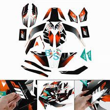 Full Custom Decals Graphics Stickers Vinyl Set Fit KTM DUKE 125 200 390 O1