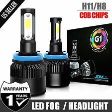 JDM ASTAR G1 H11LL/H11 LED Headlight Low Beam Bulbs Xenon White Fog Driving Lamp