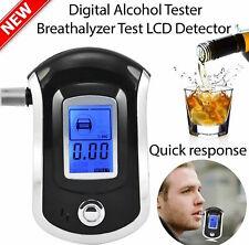 LCD Digital police breath breathalyzer test alcohol analyser AT6000 OMADA@