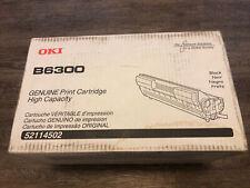 Genuine Oki B6300 Printer Black High Yield Toner 52114502 CN-084K