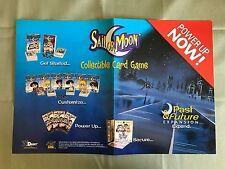 Sailor Moon CCG Collectible Card Game Dart 2000 player Mat Promo
