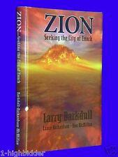 SIGNED x3 1998 Zion Seeking the City of Enoch First Ed HCDJ Barkdull Mormon LDS