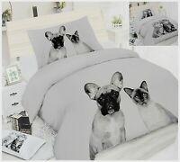 Completo letto singolo cane gatto lenzuolo a sacco federa 1 piazza copripiumino