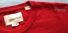 ENERGIE maglione rosso XL misto lana UOMO