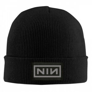 Nine Inch Nails NIN Band Box Logo SIN Auto Sport Car Cuffed Plain cap