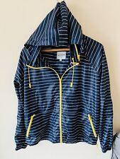 Ladies Next Size 10 Navy Blue Waterproof Rain Coat Jacket