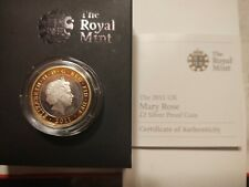 2011 United Kingdom Mary Rose 2 Pound Silver Proof Coin