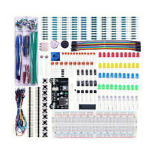 Basic-Beginners Electronics Prototyping Breadboard With Components Kit Practical