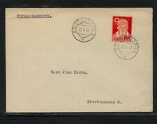 Norway B42 first day cancel cover Ms0130