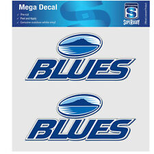 NZ Super Rugby Union Auckland Blues iTag Mega Decal Sticker Set