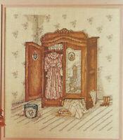 Paula Vaughan's Timeless Elegance Cross Stitch Pattern chart from a magazine