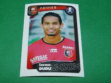 N°312 DUDU STADE RENNAIS RENNES ROAZHON PANINI FOOT 2005 FOOTBALL 2004-2005