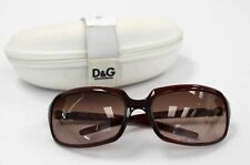 Ladies DOLCE & GABBANA D&G2192 62-17 Brown Frame Sunglasses With Case - N10
