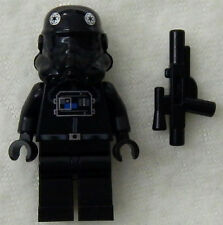 NEW LEGO STAR WARS TIE INTERCEPTOR PILOT MINIFIG 7659 6206 minifigure fighter