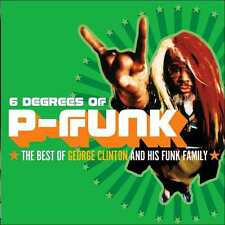 GEORGE CLINTON : SIX DEGREES OF P-FUNK: BEST OF GEORGE CLINTON (CD) sealed