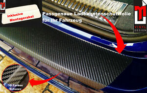 LADEKANTEN-LACKSCHUTZFOLIE für Ford KA - RU 2008-2016 Carbon schwarz