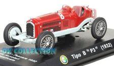 """1:43 ALFA ROMEO TIPO B """"P3"""" F1 - TAZIO NUVOLARI - 1932 + COPERCHIO BOX RIGIDO"""