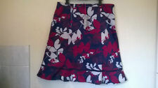 Per Una Cotton Knee Length Floral Skirts for Women