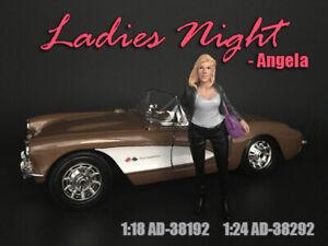 American Diorama Figure 1:24 Scale (7.5 cm) Ladies Night - Angela AD-38292