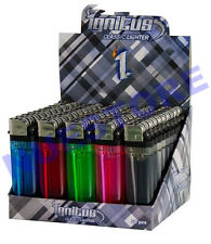 50 Cigarette Lighter Disposable Lighters - Wholesale Pack Lot Classic Full Size