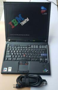 IBM ThinkPad X42 Intel Pentium M 1.70GHz 1.5GB RAM 60GB HDD BIOS TESTED