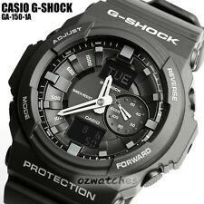 CASIO G-SHOCK MENS WATCH GA-150-1A FREE EXPRESS BLACK GA-150-1ADR ANALOG DIGITAL