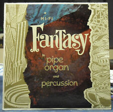 Fantasy in Pipe Organ and Percussion - Georges Montalba (LP) VG++ or Better