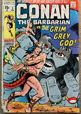 CONAN THE BARBARIAN  3 MARVEL BARRY SMITH CLASSIC LOW GRADE READER