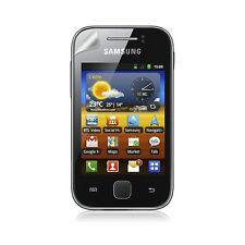 Housse coque étui gaufré pour Samsung Galaxy Y S5360 violet + Film Protecteur