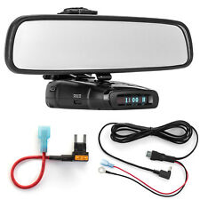 Mirror Mount Bracket + Direct Wire Power Cord + Mini Fuse Tap for Whistler