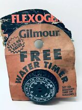 Vintage Lawn Gilmore Free Water Timer Controller Equipment New