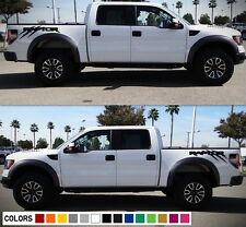 Decal Sticker Graphic Kit For Ford F150 Raptor SVT Grille Bed Scratches Light